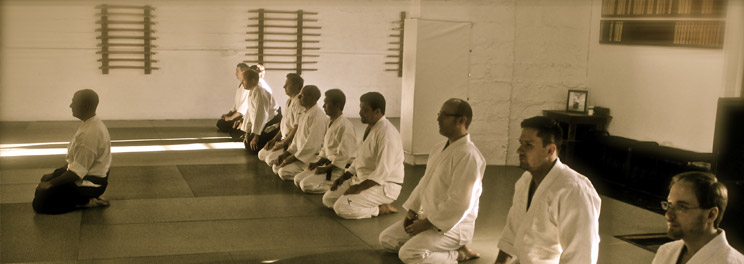 Traditional aspects of Japanese martial training are practiced as a regular part of student development.