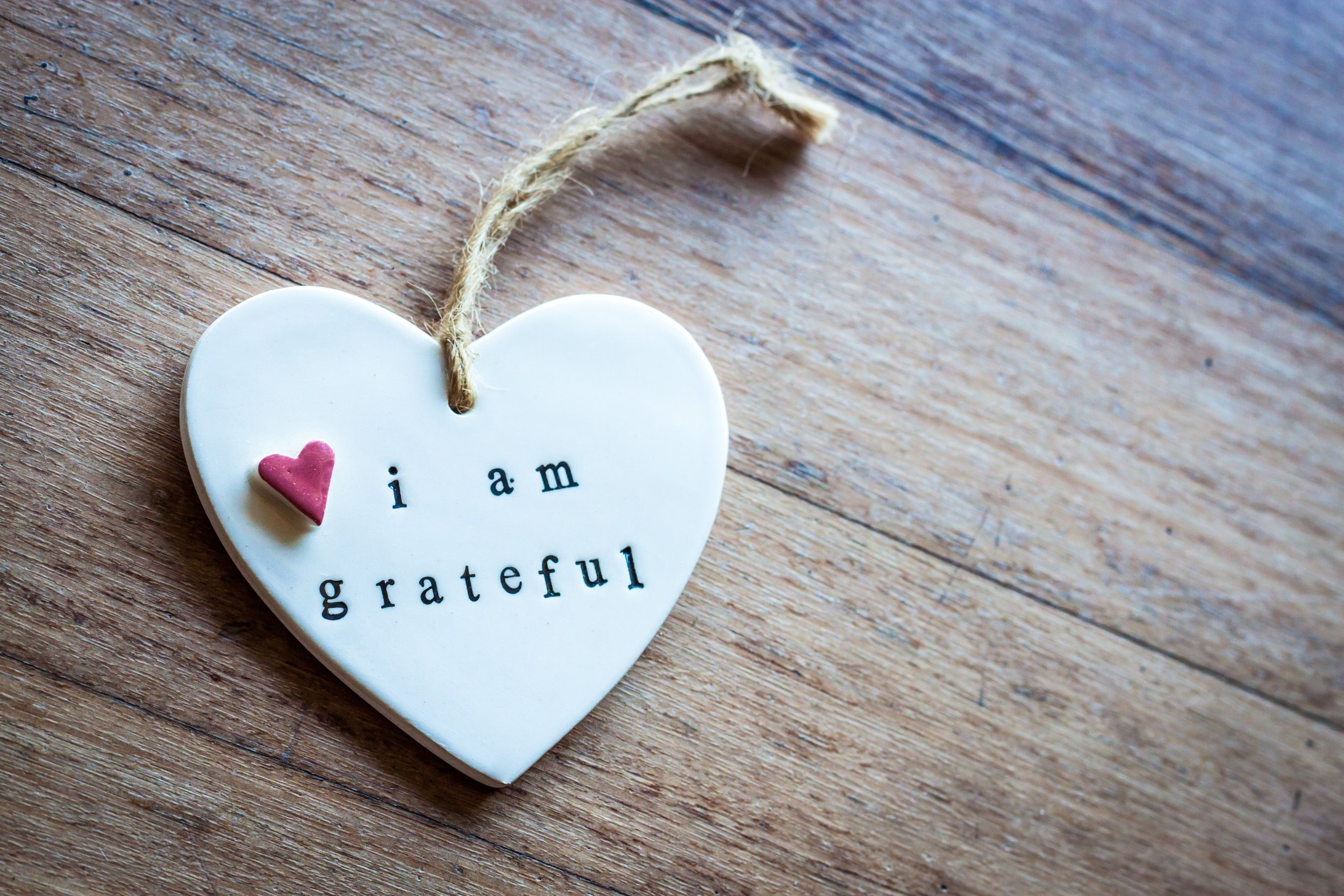 3 Things I'm Thankful For This Year -