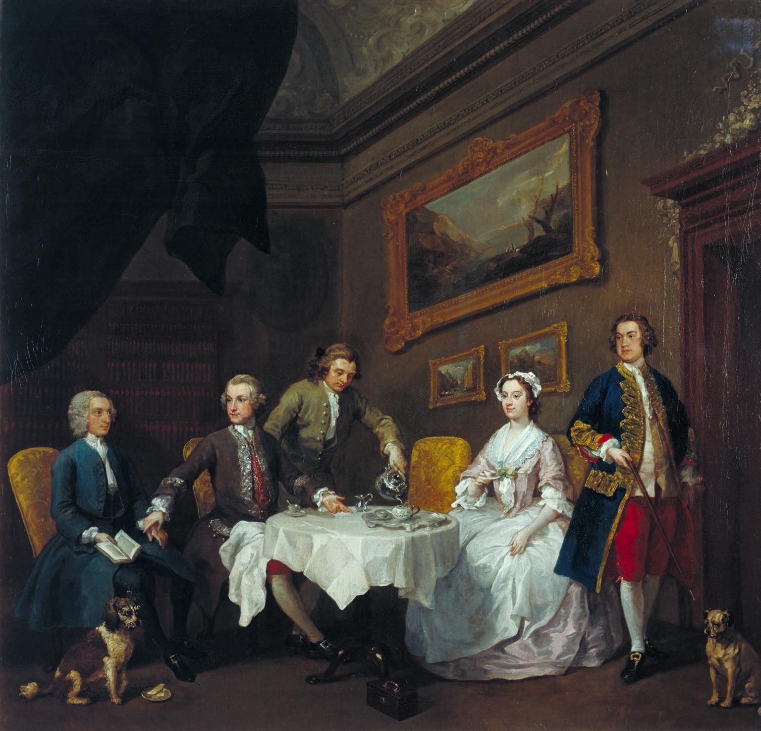 "William Hogarth,  ""The Strode Family,""  c. 1738  © Tate, Photo © Tate  Image released under CC-BY-NC-ND 3.0 (Unported)"