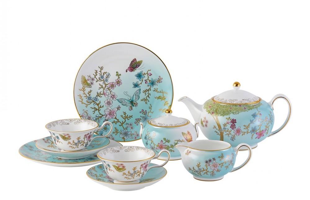 English tea service