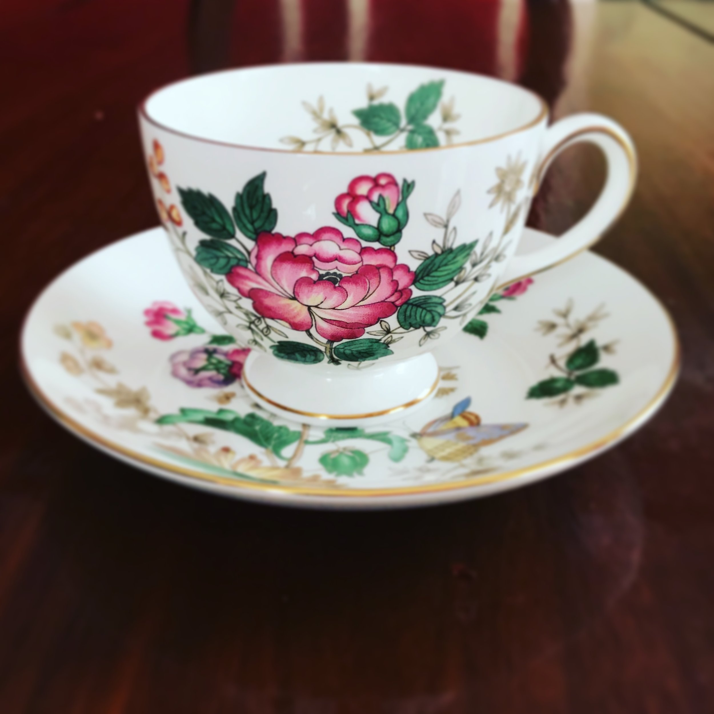 Wedgwood teacup and saucer