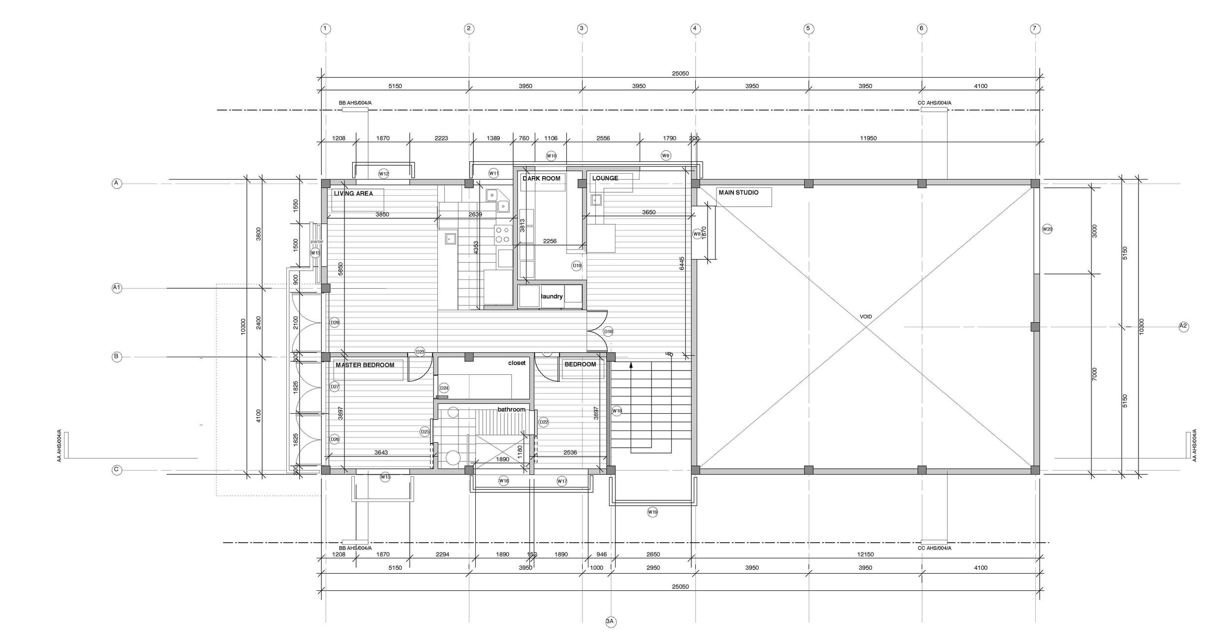 splice studio : first floor plan