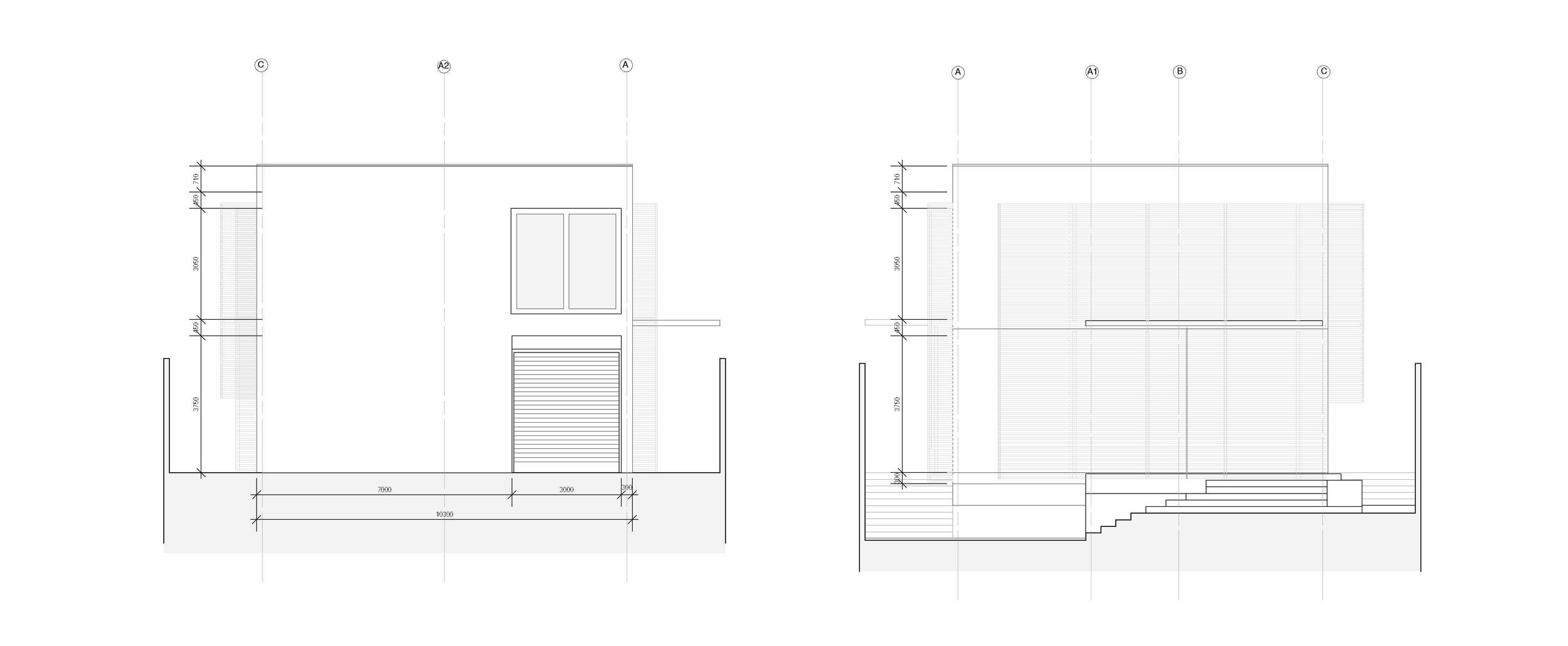 splice studio : elevations