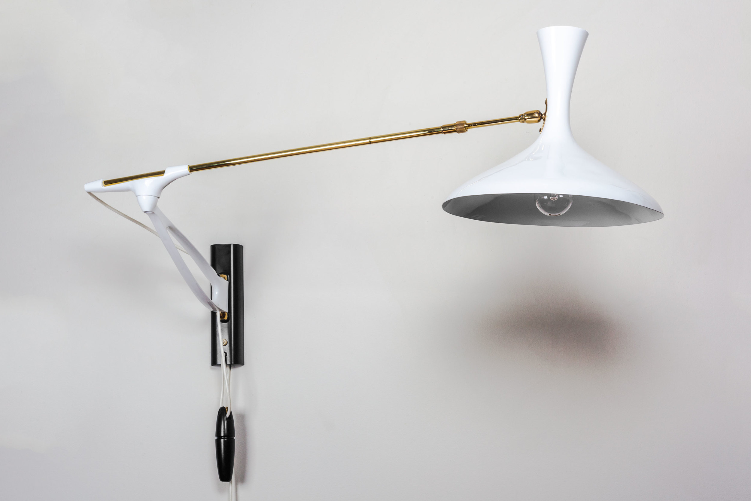 Bauhaus Free Form Wall Lamp made in Germany