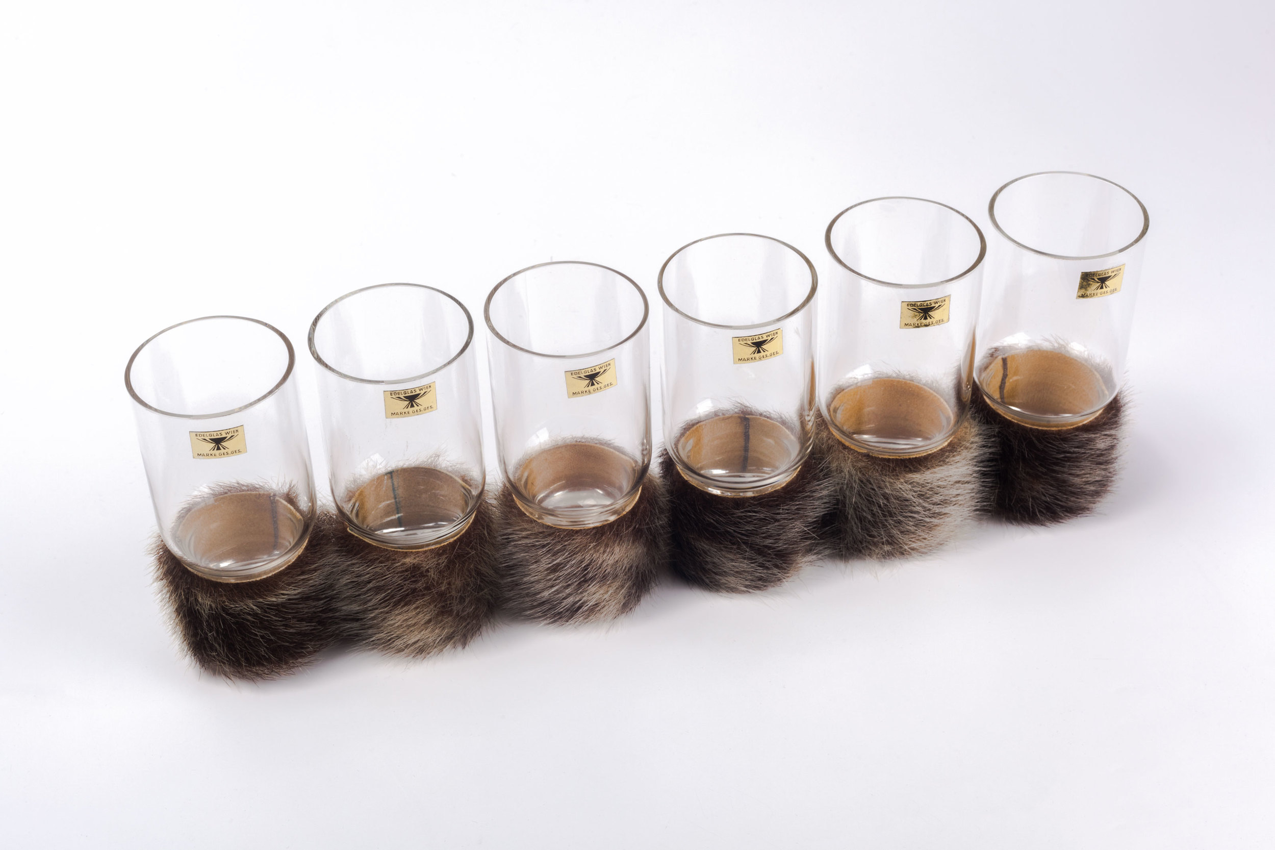 Carl Aubock Glasses with fur