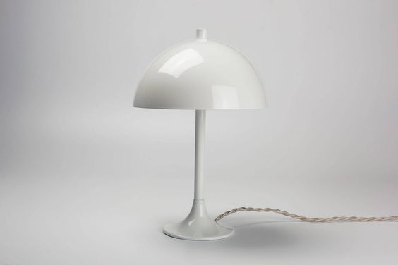 Lamp in the style of Verner Panton, France, 1950s