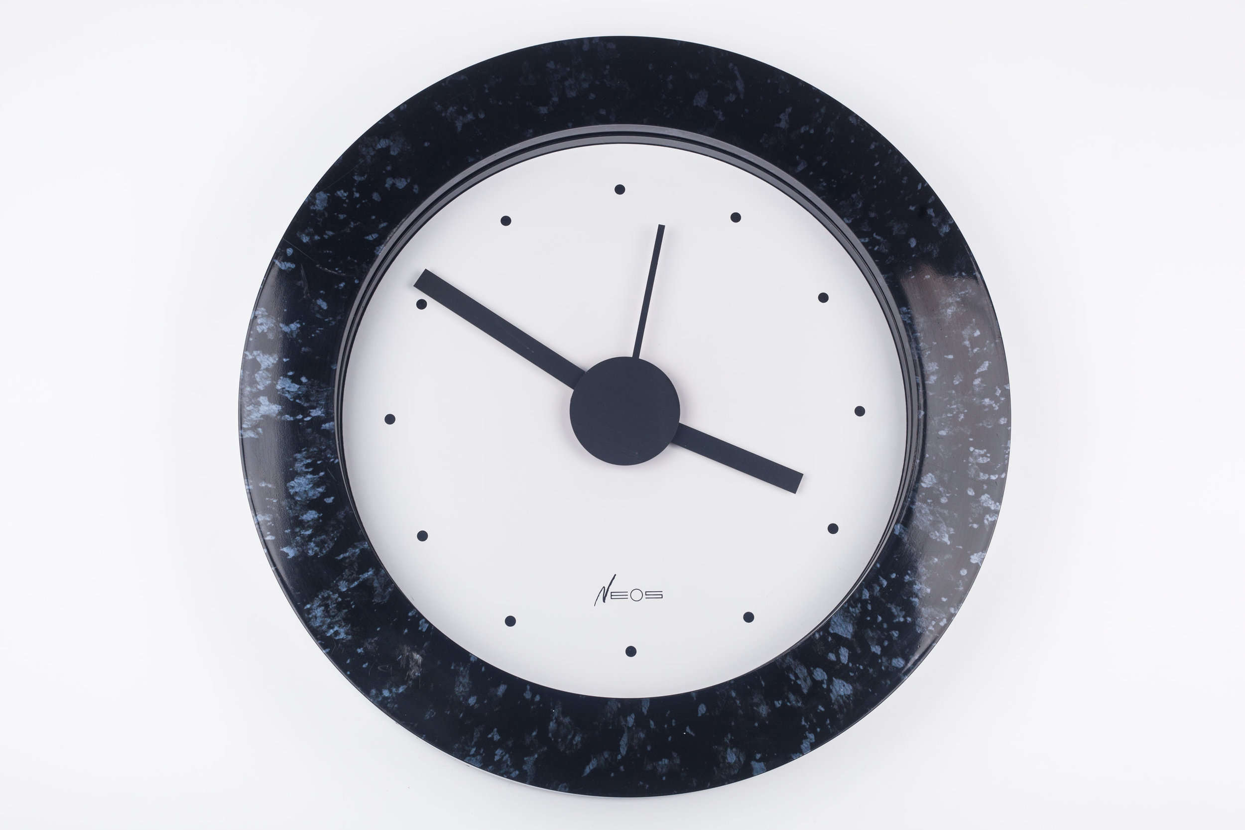 POSTMODERN WALL CLOCK BY DU PASQUIER AND SOWDEN FOR NEOS, ITALY, 1980S