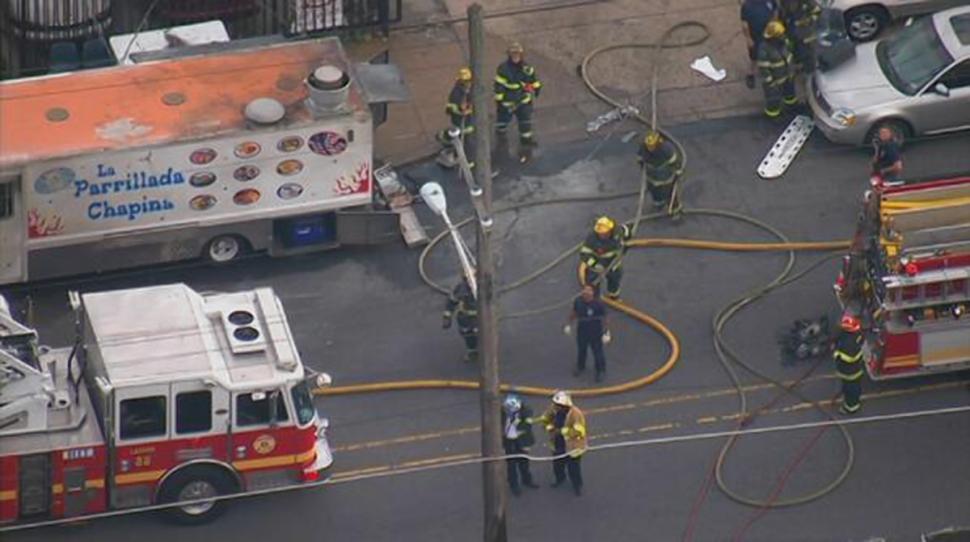 aftermath of philadelphia food truck explosion