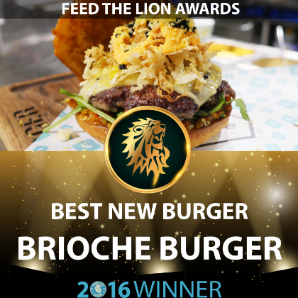 Thank you feedthelions for awarding us the best new Burger and most improved meuu, our team is continuously working to improve and serve Londons best burgers.