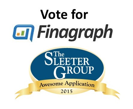 Vote for Finagraph in The 2015 Awesome App Awards by The Sleeter Group