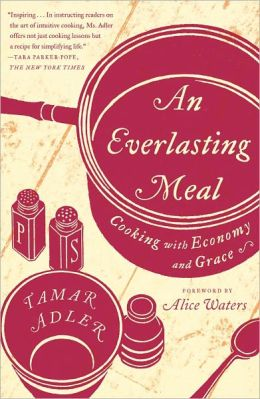 Tamar Adler's  An Everlasting Meal: Cooking with Economy and Grace , in which I maybe learn how to keep even more food from the compost & trash bins, which I would really enjoy