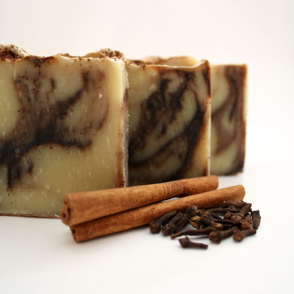 Three Cinnamon Soaps
