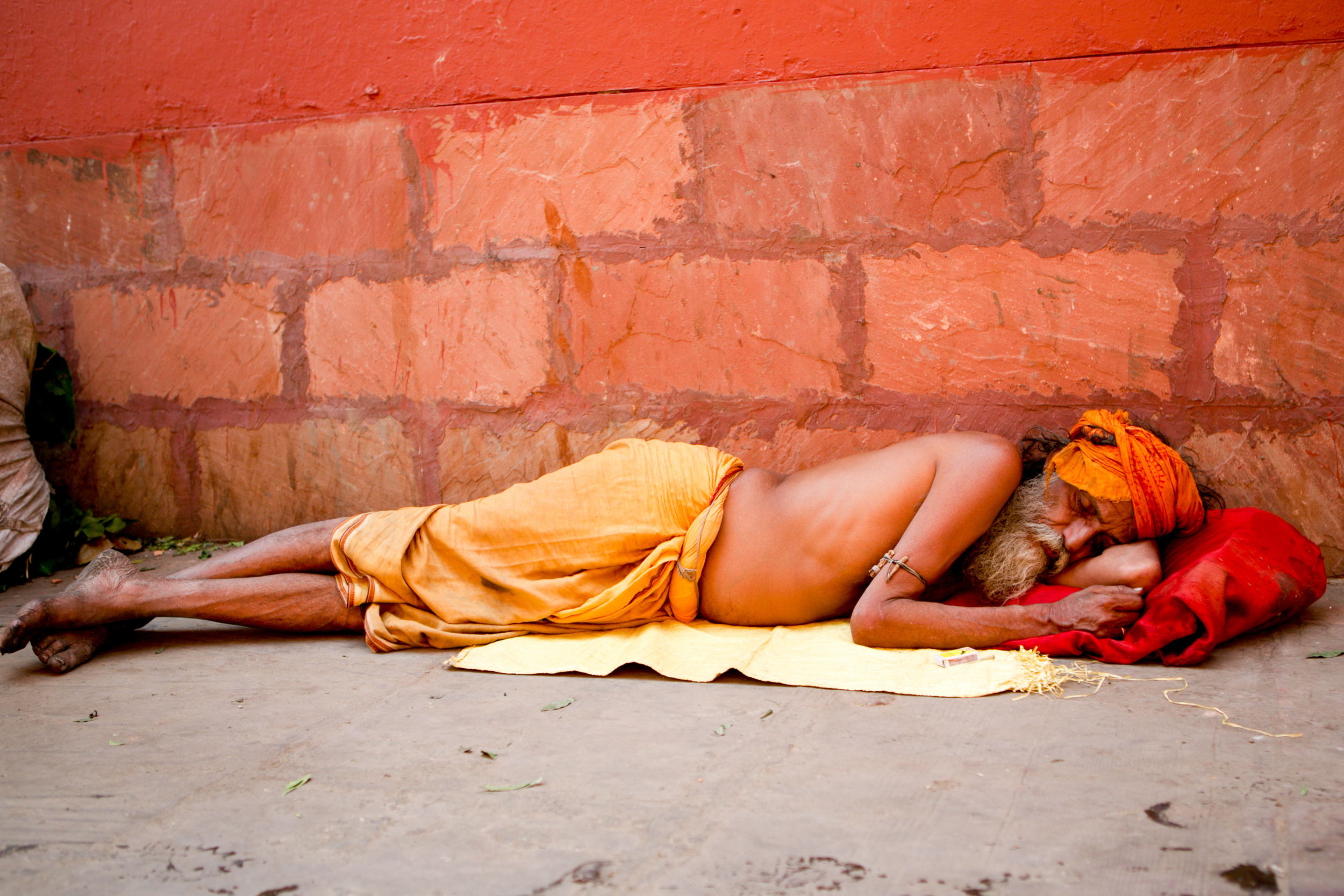 Sleeping Hindu  © Kelly Smith