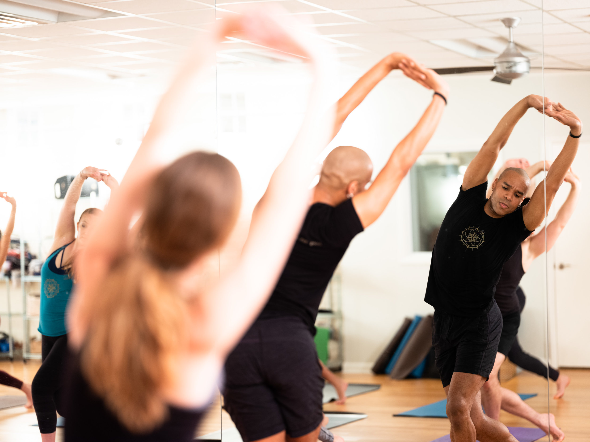 bodyART™ - bodyART™ is a high energy movement class combining yoga, Pilates, dance and martial arts. The class is done barefoot on a mat. Come prepared to move to inspiring music and to sweat!