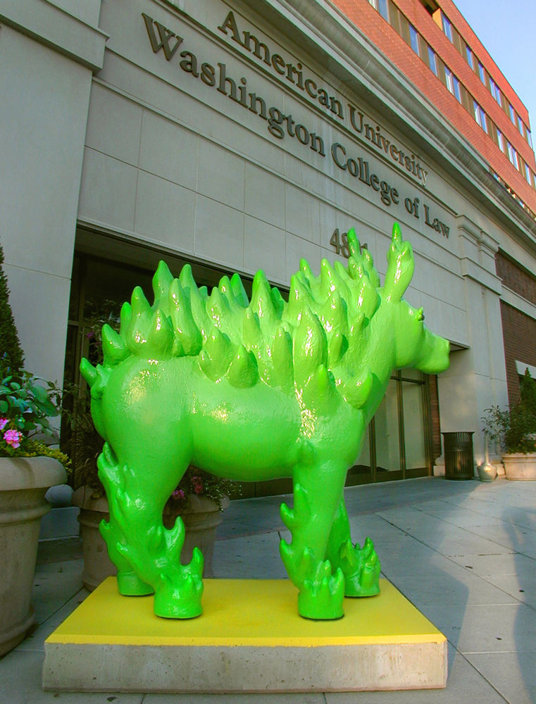 GREEN PARTY DONKEY - DC COMMISSION ON THE ARTS & HUMANITIES