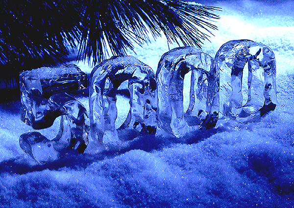 ICE NUMBERS - BIVER PHOTOGRAPHY