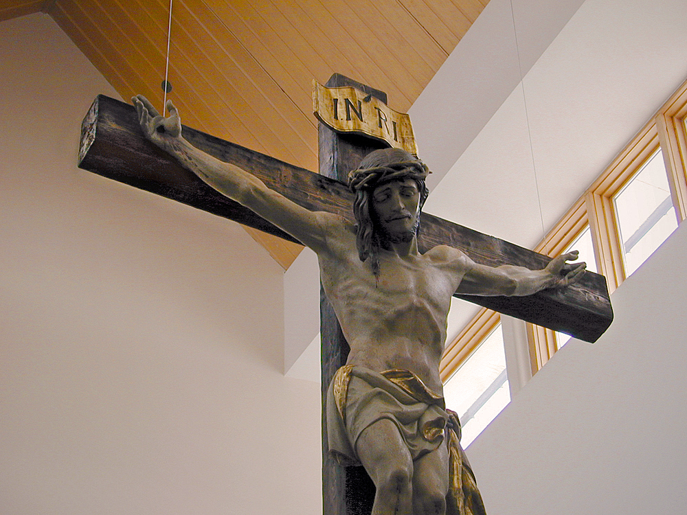 WEATHERED CROSS - BLESSED SACRAMENT