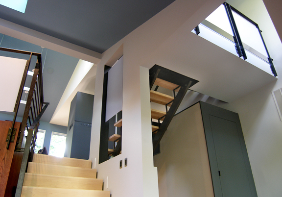 BAlCONY & STAIRS - PIAZZA GREER RESIDENCE