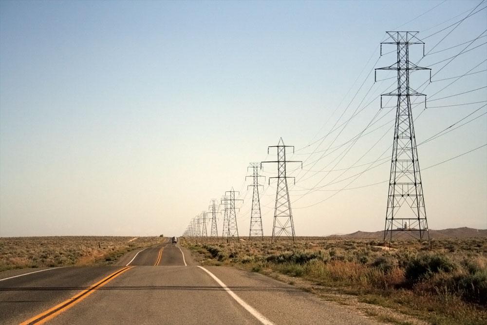 route 395, california