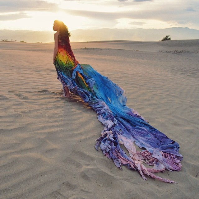 The Rainbow Gown