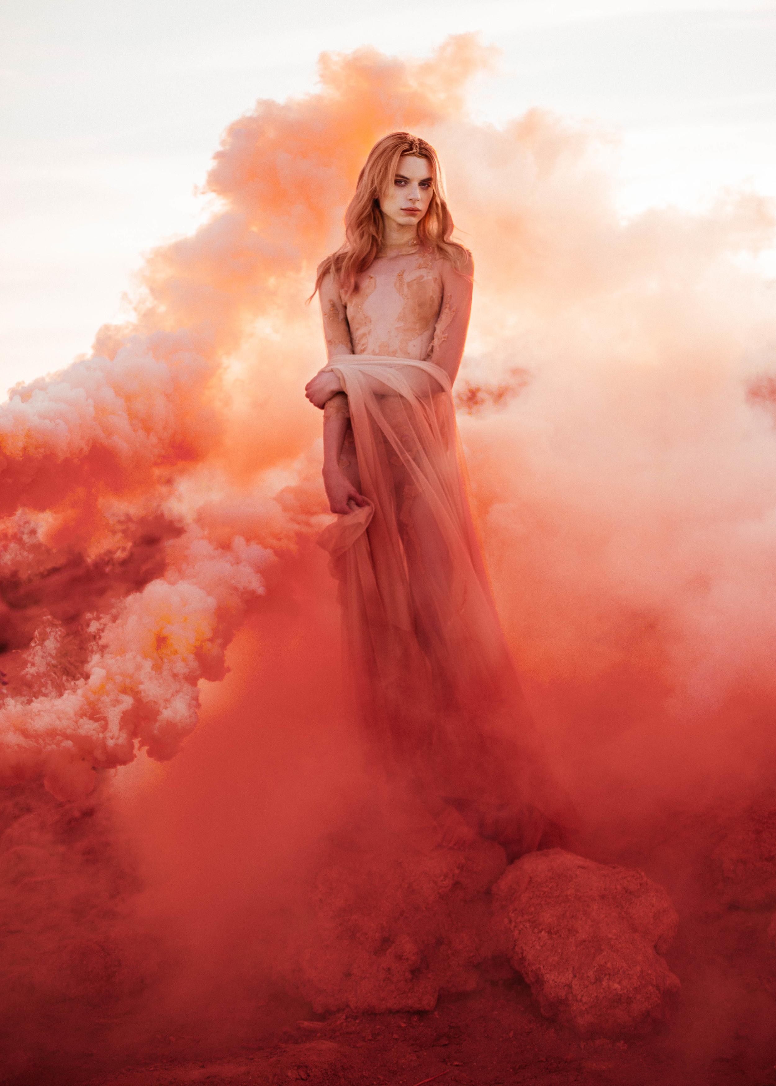 The Ascension  | Michelle Hébert 'Metamorphosis' Gown Captured by De Anastacia