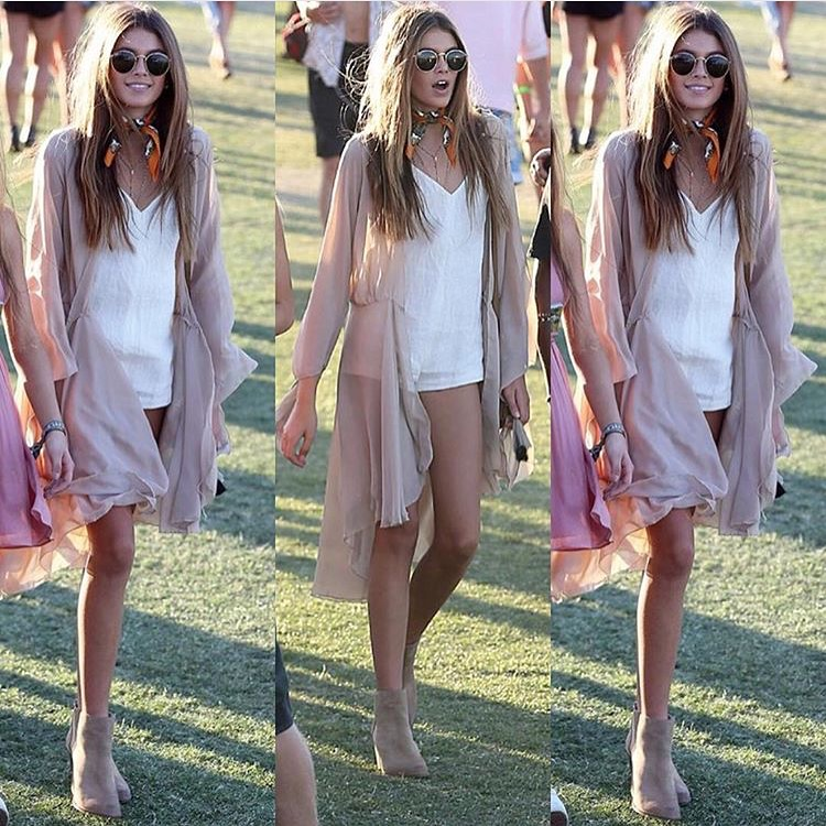 Cindy Crawford's Daughter Kaia Gerber | Styled by Monica Rose
