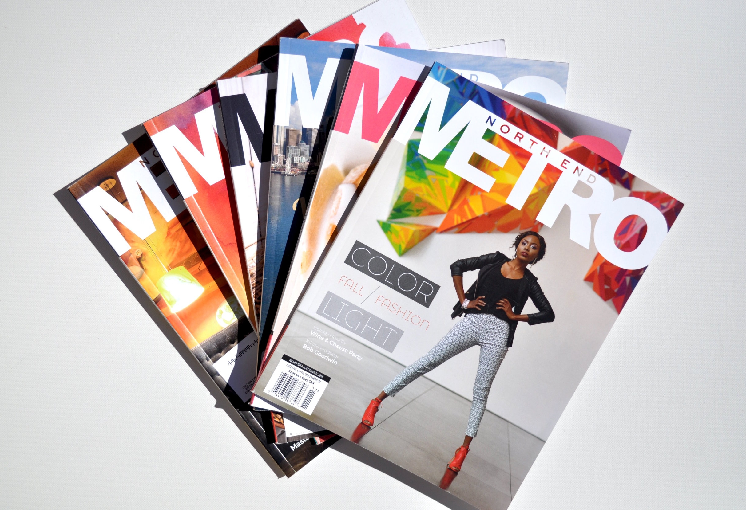Shannon Black writer and photographer in North End Metro magazine