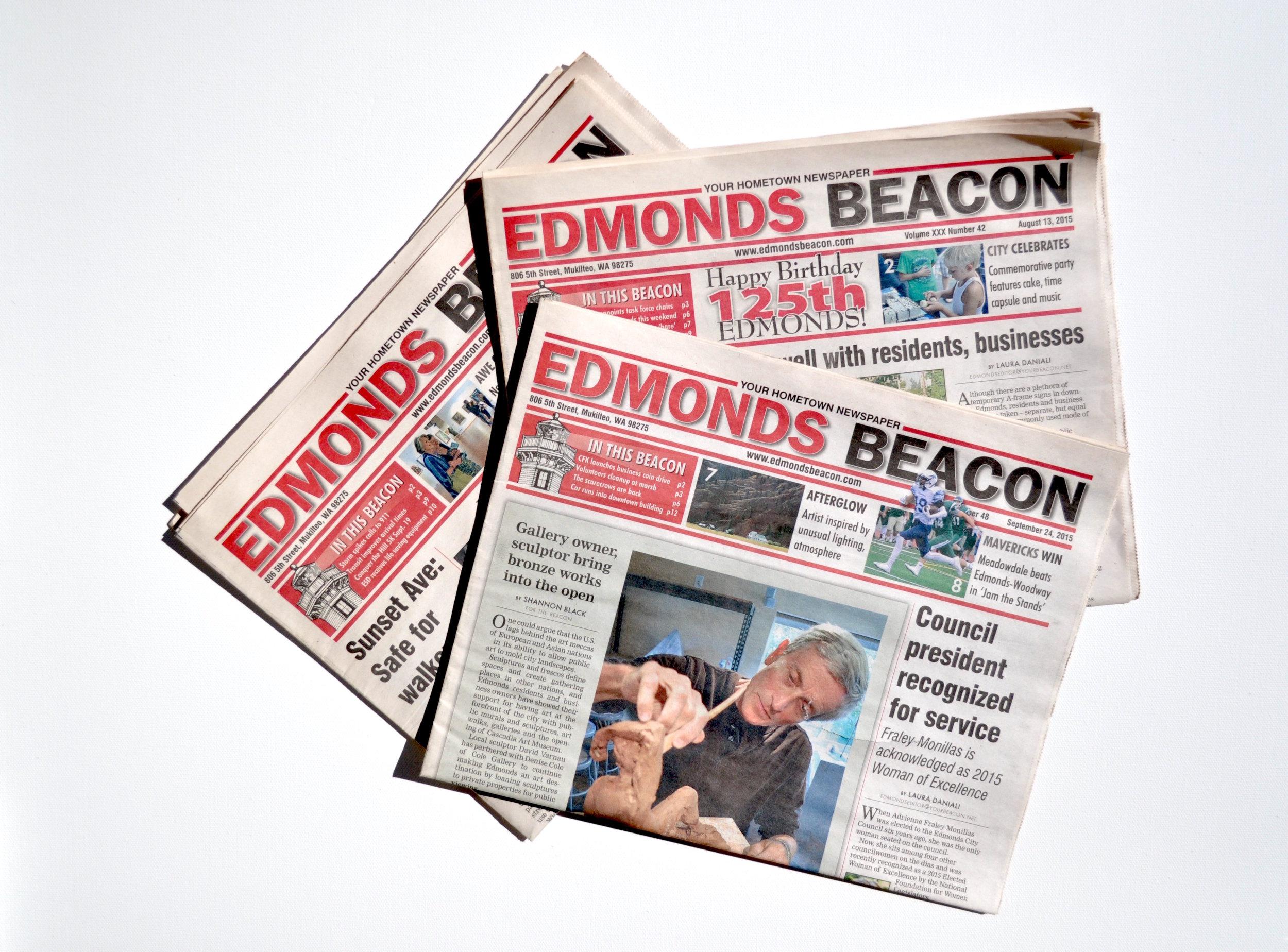 Shannon Black writer and photographer for Edmonds Beacon