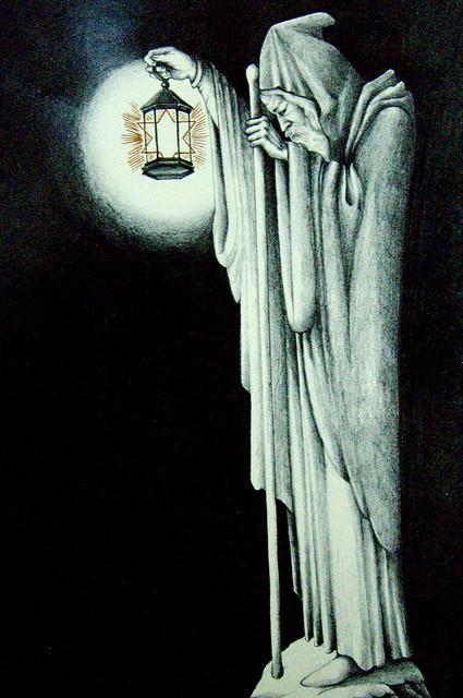 Mad love for The Hermit inspired Led Zeppelin album artwork...