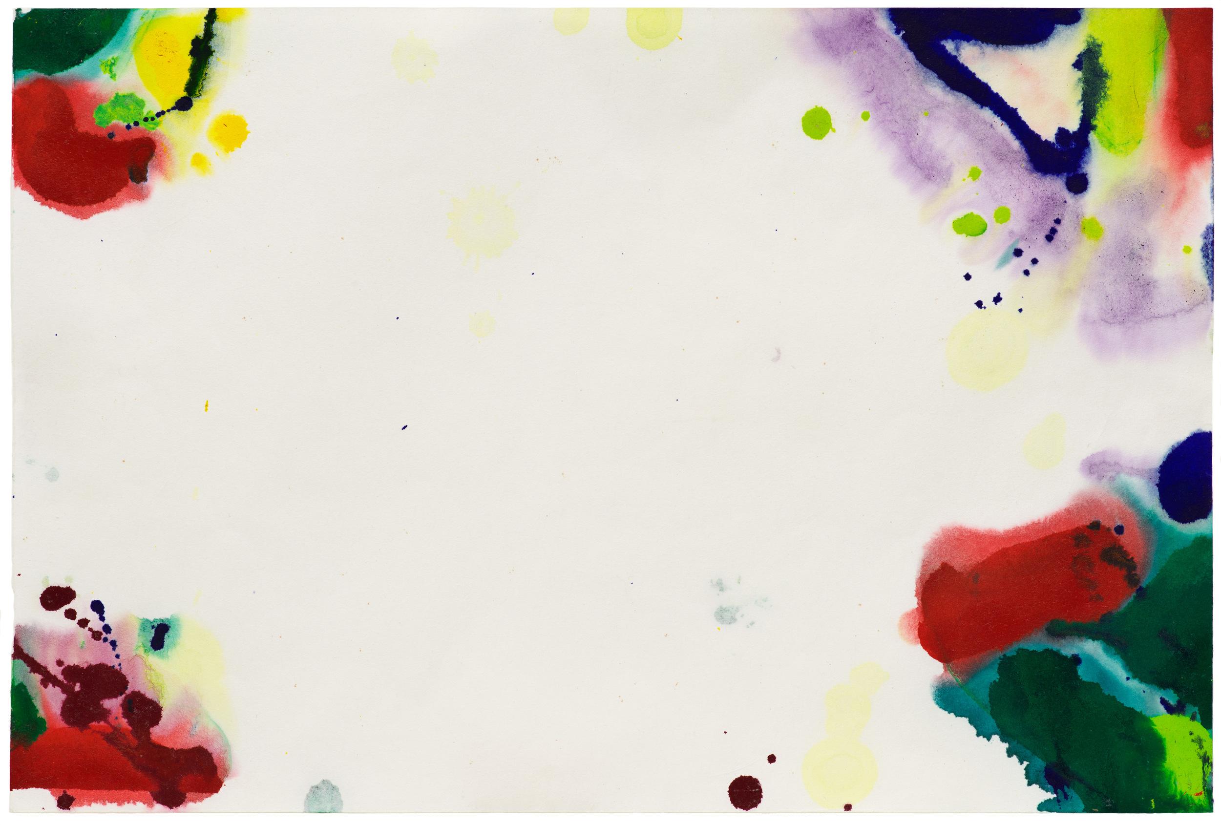 Sam Francis, Untitled SF68-10, 1968