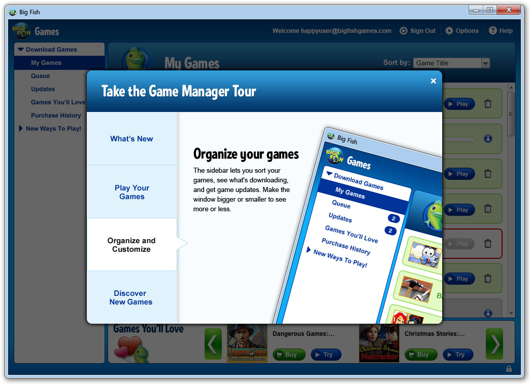 Game Manager 3 0 — Red Eye UX
