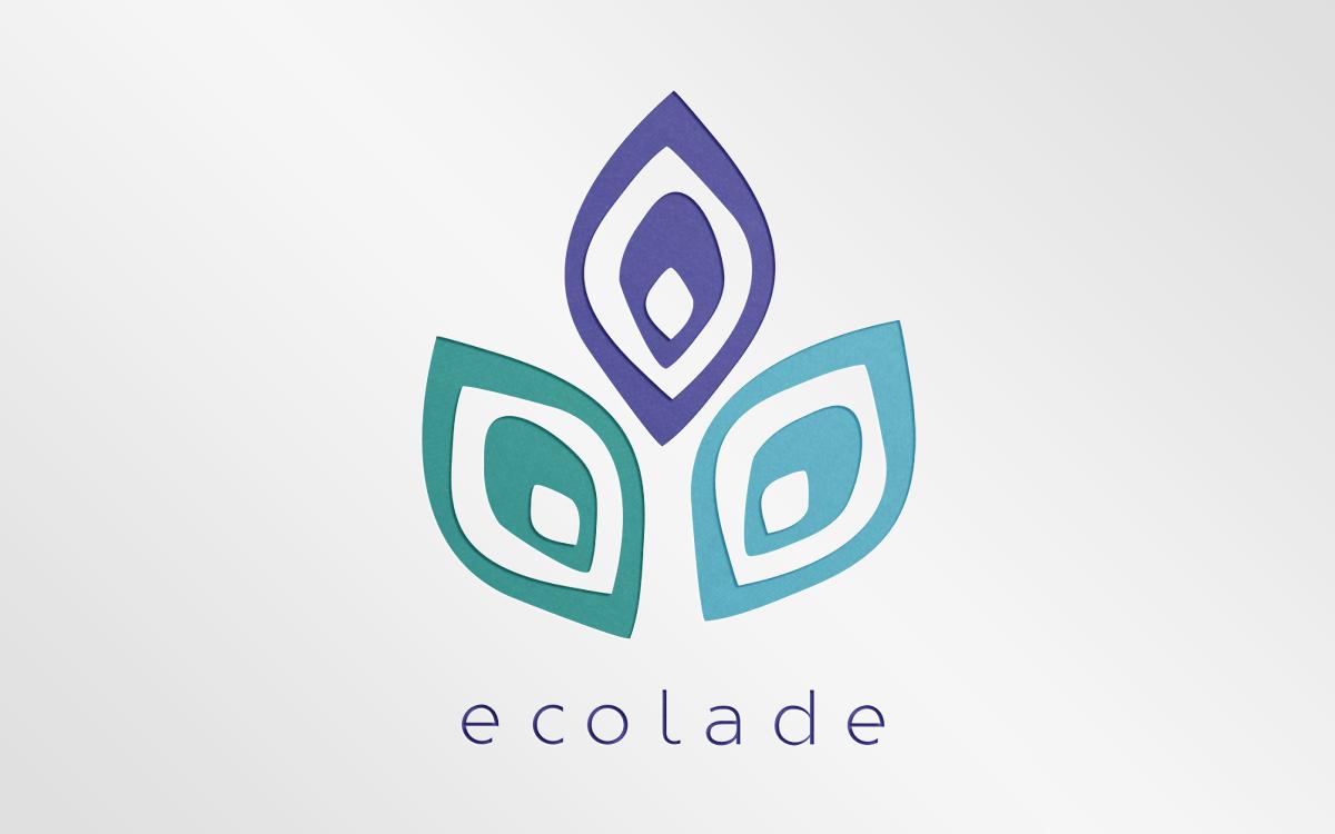 Logo design for Ecolade. A vegan-friendly handbag store:www.ecolade.com.au