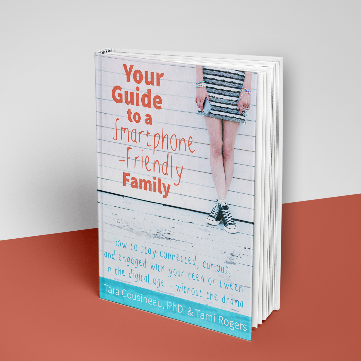 eBook Cover for Bodimojo's book for parents and families. Features for design on inside pages and content.