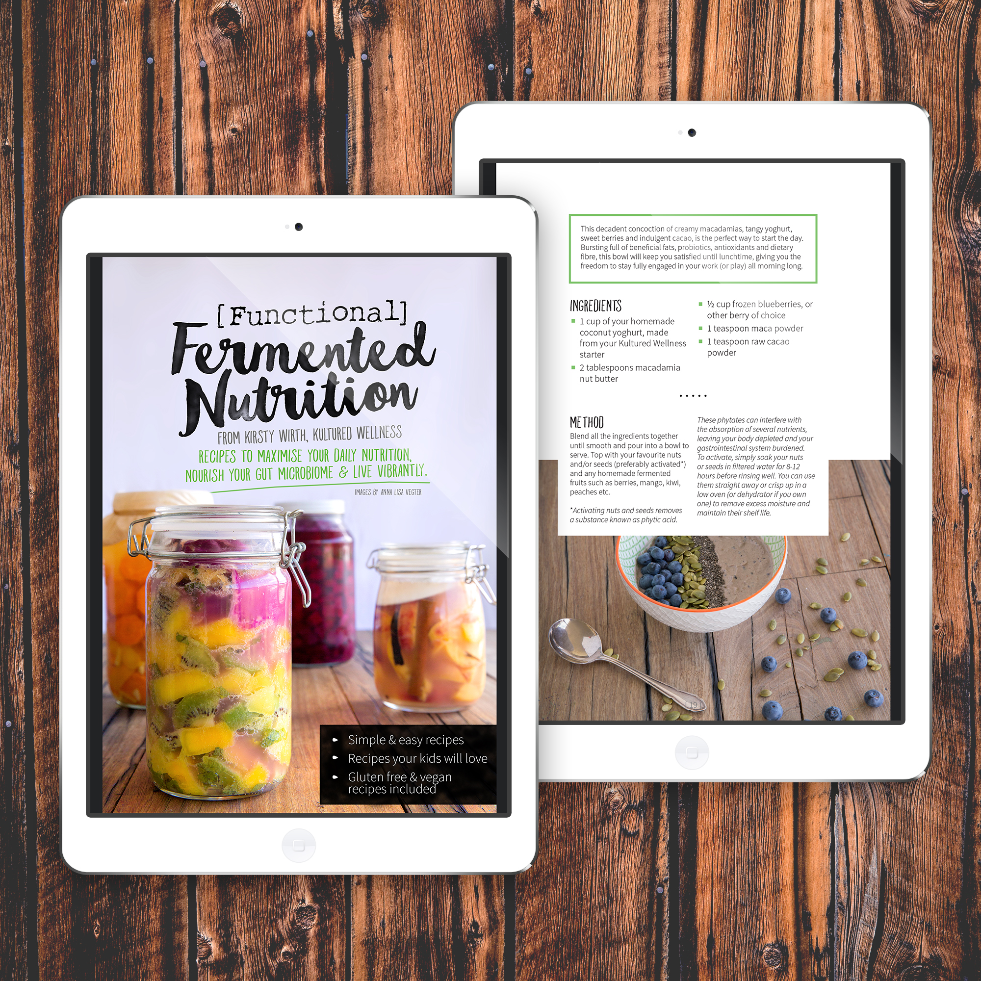 eBook design for Kultured Wellness.
