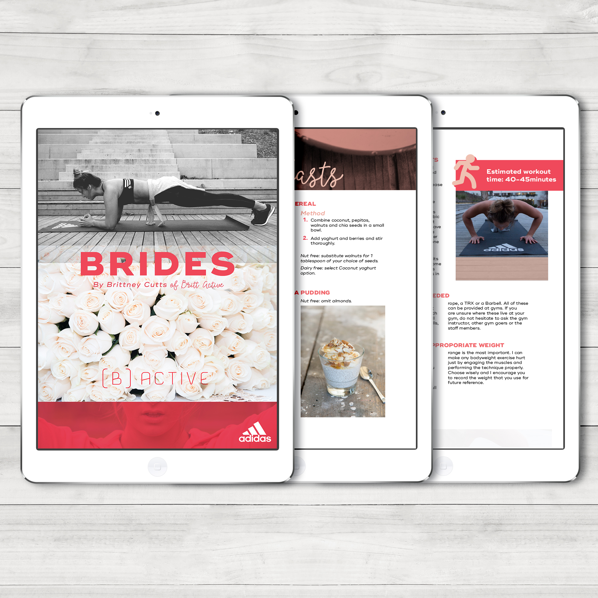 eBook design for Britt Active.