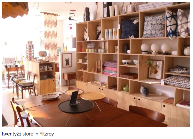 I am so excited to now be stocked in the gorgeous twenty21 in Fitzroy. Take a look their website for amazing mid century homewares and stationary, or even better go an visit it if you are nearby.