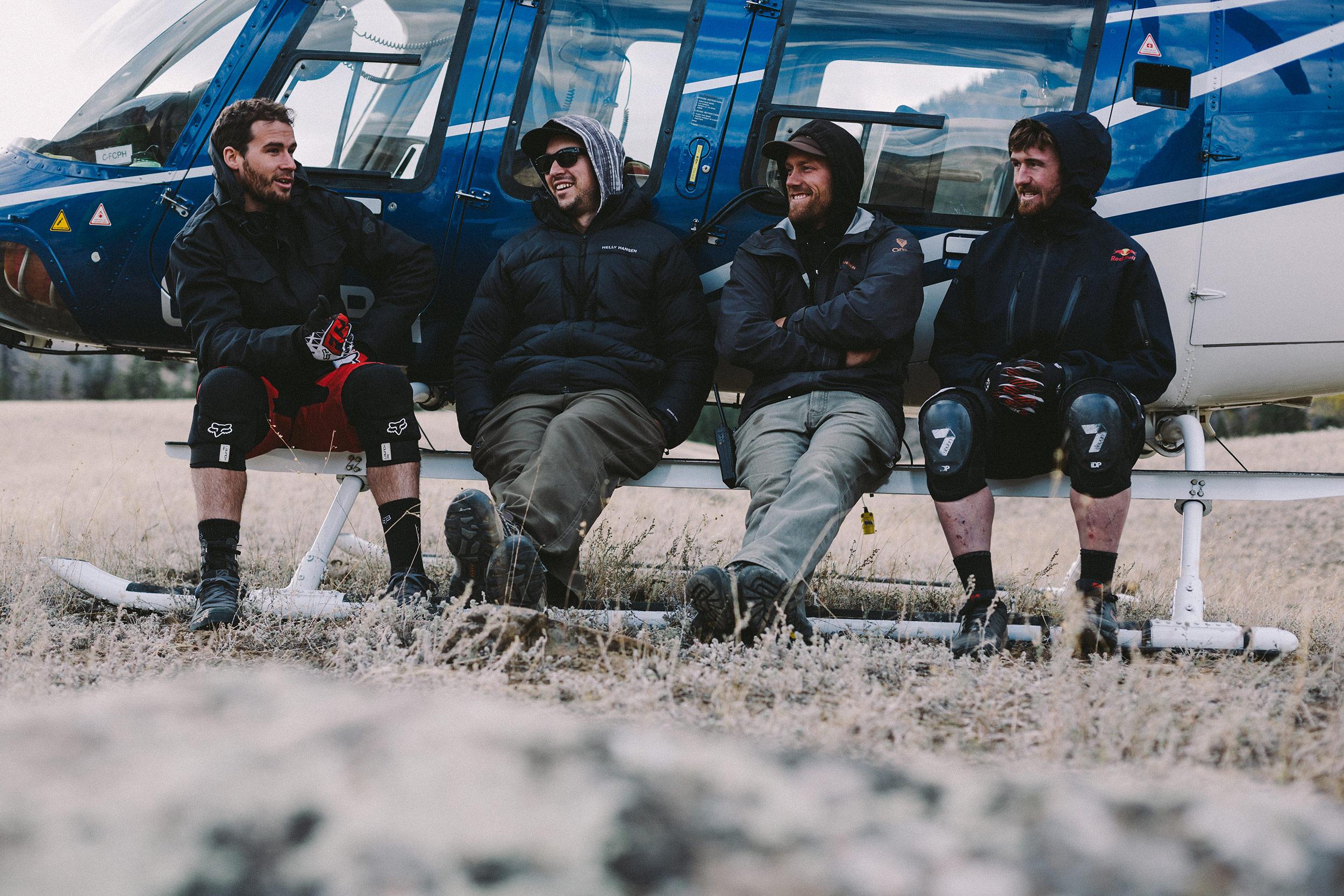 Steve Smith, Darren McCollough, Darcy Wittenburg, Brook MacDonald   Fraser Canyon,BC