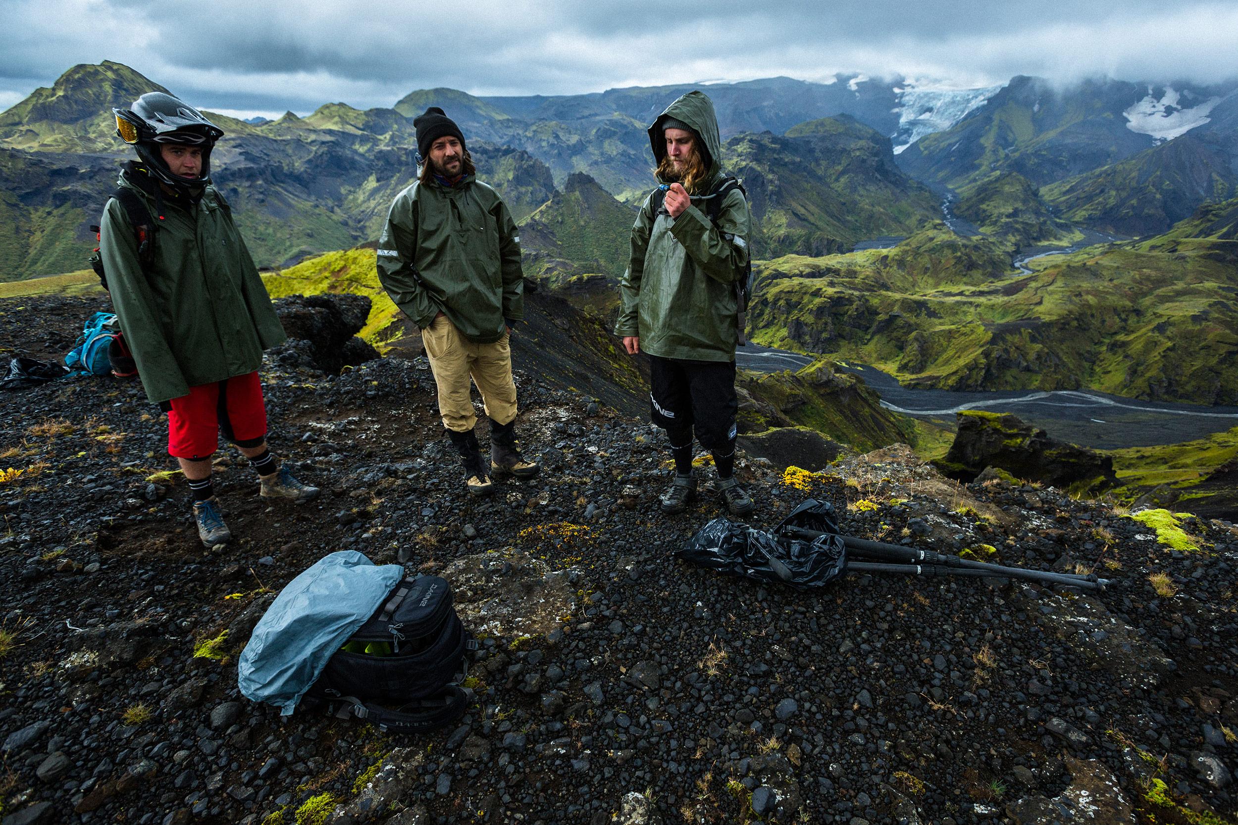Matty Miles, Eric Crosland, Graham Agassiz   Iceland