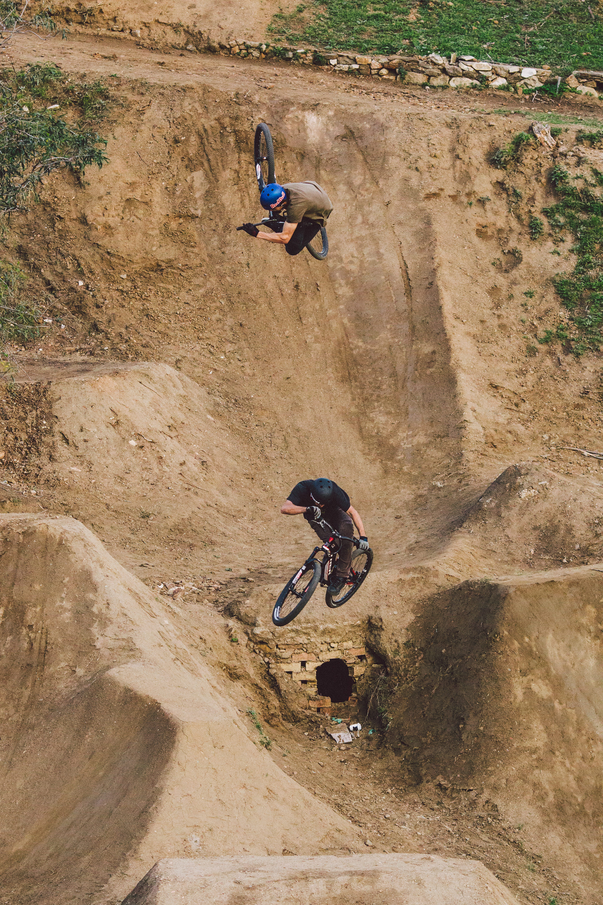 Brandon Semenuk, Ryan Howard / n2b   Mijas, Spain