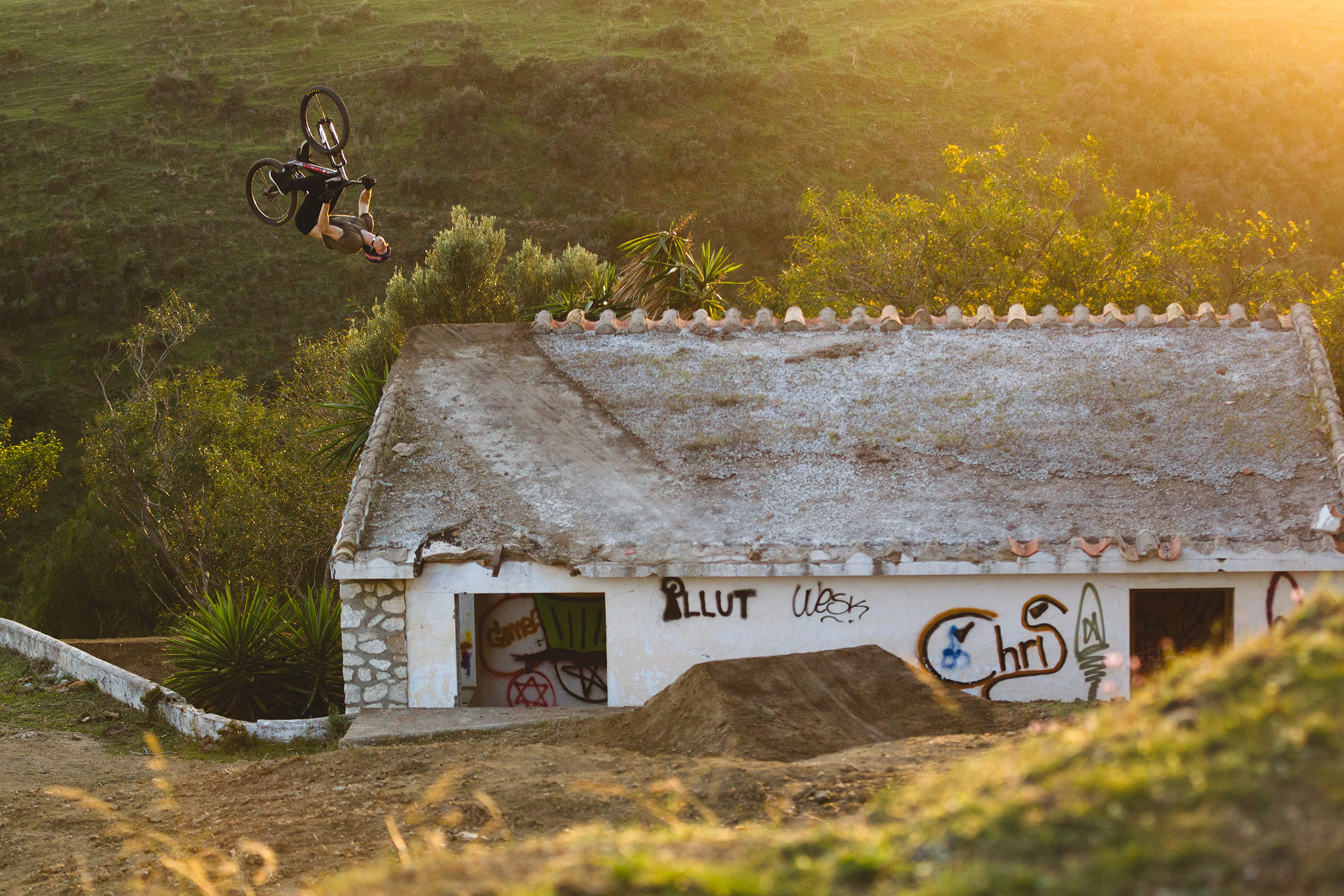 Brandon Semenuk / n2b   Mijas, Spain