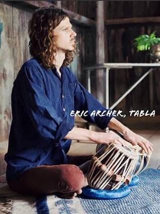 Eric Archer on Tabla