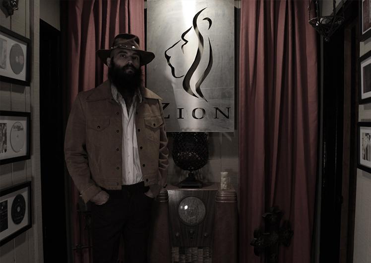 Dallas Kruse and Zion Studios in Santa Ana, CA.