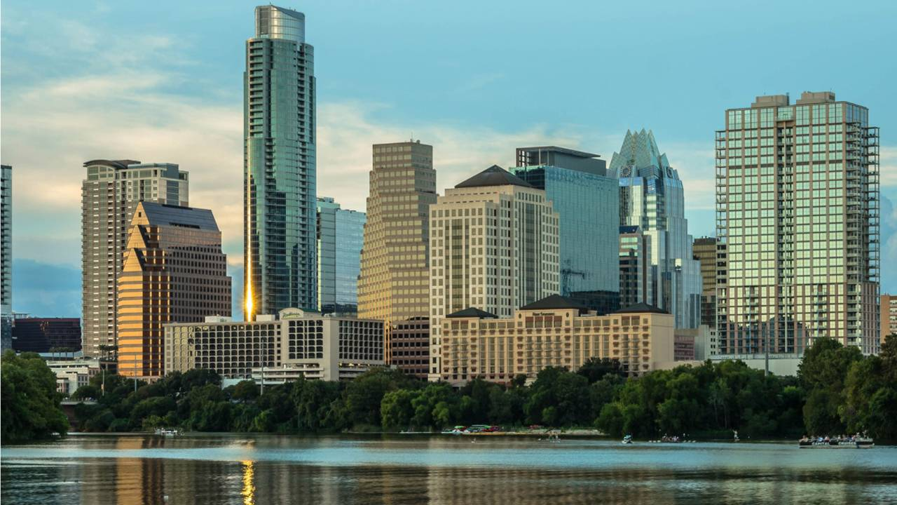 Four Seasons Hotel  - located on Austin's waterfront