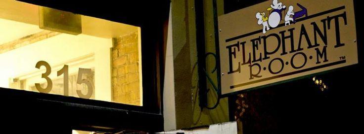 Elephant Room  - basement jazz club in downtown Austin