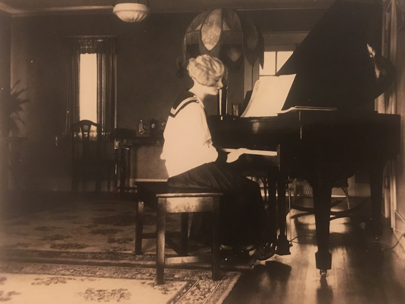 My late grandmother Josephine was pianist & singer