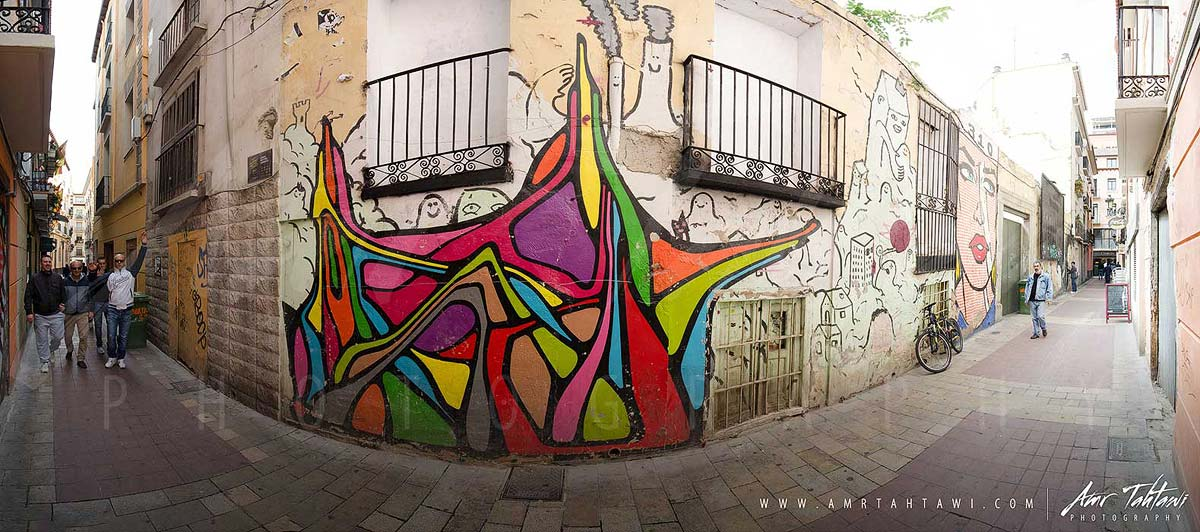Zaragoza's narrow alleys are a street art paradise ( click for a full screen experience )