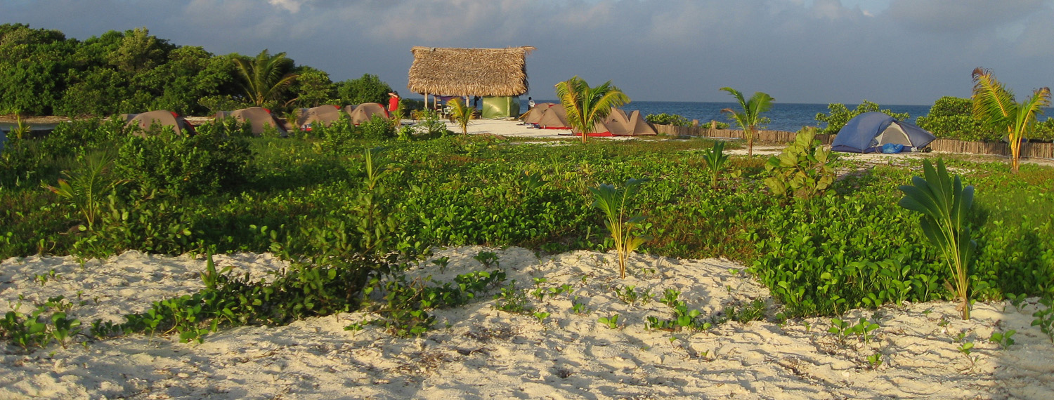 North End of Thatch Caye Resort