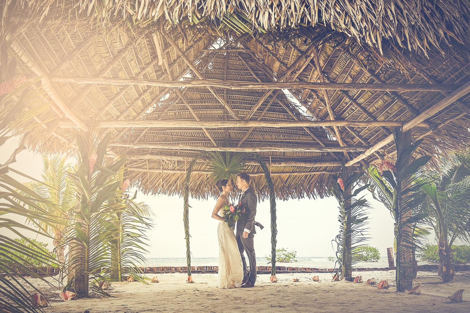 Wedding Palapa at Indy Beach -