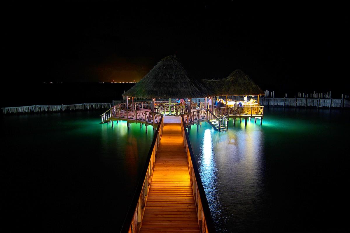 Starfish Bar at Night