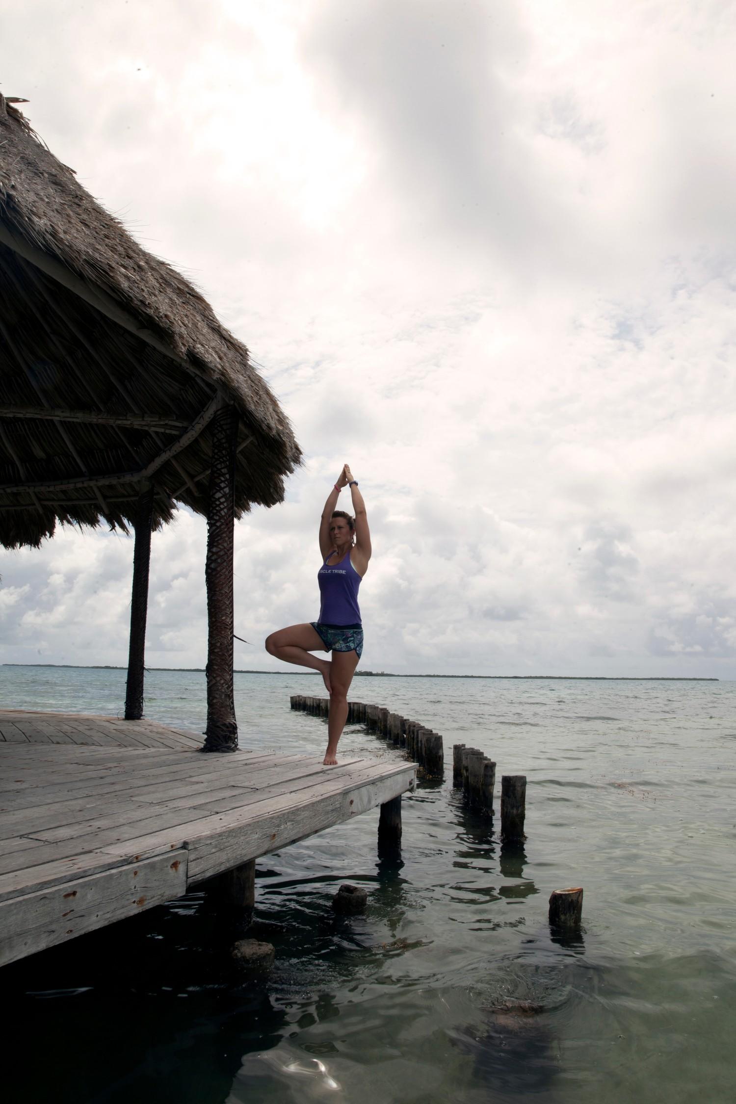 Copy of Belize Island Yoga